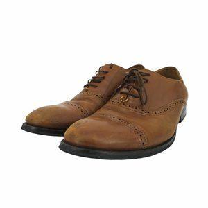 Duchini men's brown oxfords 43 size 10